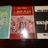 Paul Everac - lot 3 carti cu autograful autorului