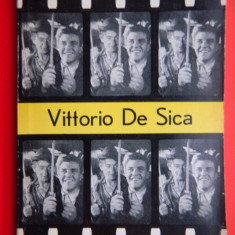 VITTORIO DE SICA Mihail Lupu - Carte Cinematografie