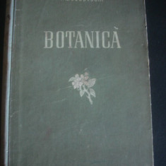 P. M. JUCOVSCHI - BOTANICA  {1953}, Alta editura