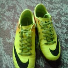 Nike mercurial - Ghete fotbal Nike, Marime: 42, Culoare: Galben