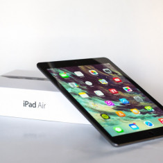 IPad Air 128GB Wi-Fi + Cellular Space Grey - Tableta iPad Air Apple, Gri, Wi-Fi + 4G
