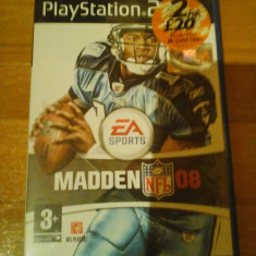 JOC PS2 MADDEN 08 ORIGINAL PAL / STOC REAL in Bucuresti / by DARK WADDER, Sporturi, 3+, Multiplayer, Ea Sports