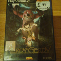 JOC PS2 HERDY GERDY ORIGINAL PAL / STOC REAL in Bucuresti / by DARK WADDER - Jocuri PS2 Eidos, Actiune, 3+, Single player