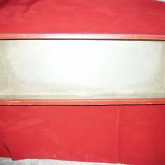 Cutie interbelica carton pt. Efecte Militare, dim.= 50x 17, 5 x 8 cm
