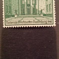 Germania reich 1940 mi 743 serie MH Expozitie filatelica Berlin, Nestampilat