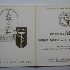 ANIVERSARE VERNISAJ FRED NUSS 1979 - Jubiliare