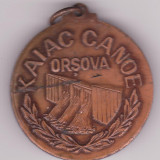 MEDALIE SPORTIVA - KAIAC CANOE - ORSOVA - Medalii Romania