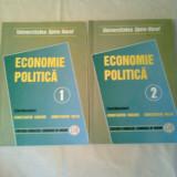 ECONOMIE POLITICA ~ CONSTANTIN ENACHE / CONSTANTIN MECU - vol. 1+ 2 - complet - Carte Economie Politica