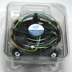 Cooler procesor LGA 775, mufa 4 fire, PWM, control turatie, PASTA APLICATA, NOU - Cooler PC Intel, Pentru procesoare