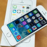 iPhone 5S Apple Silver alb Neverloked 16 GB., Argintiu, Neblocat