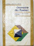 Geometrie des Raumes, Alta editura