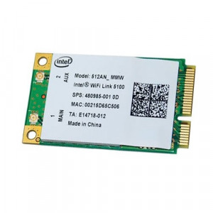 Placa wireless Intel Wi-Fi Link 5100, PCIe Mini Card Lenovo 512AN_MMW (A)