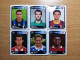 Lot 6 stikere fotbalisti Panini, UCL 2010-2011