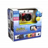 Camera video sport subacvatica - Action Camcorder HD 720p, Card de memorie