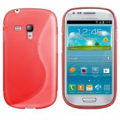 Husa Samsung Galaxy S3 Mini i8190 TPU S-LINE Red - Husa Telefon Samsung, Rosu, Gel TPU, Fara snur, Carcasa