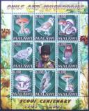 MALAWI 2007 - CIUPERCI SI BUFNITE   1 M/SH, NEOBLITERATA - E2376