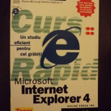 MICROSOFT INTERNET EXPLORER 4 - STUDIU RAPID
