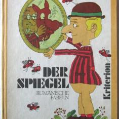 """DER SPIEGEL. RUMANISCHE FABELN"", Diversi autori romani, 1979. Carte noua - Carte educativa"