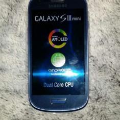 Samsung galaxy s3 mini i8200 nou! - Telefon mobil Samsung Galaxy S3 Mini, Albastru, 8GB, Neblocat