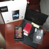 Vand telefon SONY XPERIA S LT26i de 32 GB, negru, necodat, impecabil!