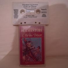Vand caseta audio L'Ile Au Tresor, originala, raritate!-audiobook - Muzica Pop Altele, Casete audio