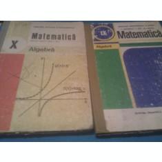 LOT MANUALE MATEMATICA ALGEBRA CLASA IX-X