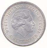 Moneda Olanda 10 Gulden 1973 - KM#196 aUNC (comemorativa - argint 0,720 - 25 grame), Europa