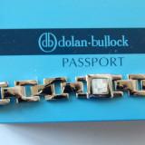 Bratara argint barbateasca , insertii sidef , DOLAN BULLOCK, Barbati