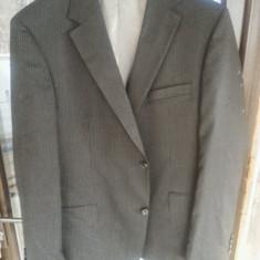 COSTUM HUGO BOSS ORIGINAL XXL - Costum barbati Hugo Boss, Marime: 52, Culoare: Negru, 2 nasturi, Marime sacou: 52, 48 sau mai mare