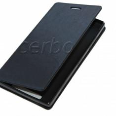 HUSA NOKIA LUMIA 830 - Husa Telefon Nokia, Nokia Lumia 800, Negru, Piele Ecologica, Cu clapeta