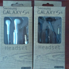 CASTI HANDSFREE SAMSUNG GALAXY S4 S3 HS3303WE STEREO NOI ORIGINALE SIGILATE - Handsfree GSM