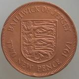 JERSEY KM#31 - 2 New Pence 1971