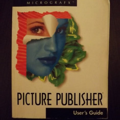 PICTURE PUBLISHER - USER'S GUIDE - Carte design grafic