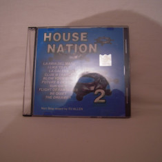 Vand cd House Nation vol 2, original, raritate! - Muzica House Altele