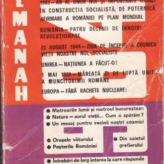 ALMANAH SCANTEIA 1984 * 5