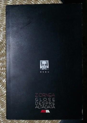 Glose despre altadata  / Zigu Ornea ALLFA 1999
