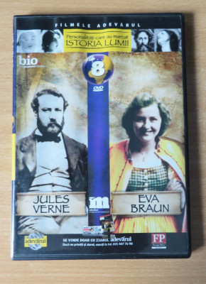 Istoria Lumii - Jules Verne si Eva Braun DVD foto