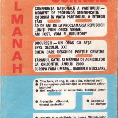 ALMANAH SCANTEIA 1988