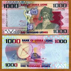 SIERRA LEONE- 1000 LEONES 2010- P 30- UNC!! - bancnota africa