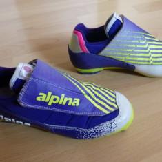 Clapari ski Alpina The Logical Choice, captusiti Alpina Power-Bed; 38; ca noi