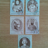 UNGARIA (1609) - PERSONALITATI - serie stampilata - Timbre straine