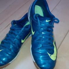 Ghete Nike Mercurial - Ghete fotbal Nike, Marime: <25, Culoare: Alb, Barbati, Sala: 1