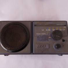 RADIO DUO 1210 TEHNOTON, NU FUNCTIONEAZA, PENTRU PIESE ! - Aparat radio