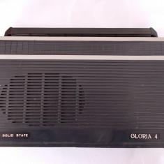 RADIO GLORIA 4, FABRICAT DE TEHNOTON . - Aparat radio