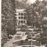 CPI (B4605) BAILE HERCULANE, VEDERE DIN PARC, CIRCULATA, 15.4.1959, STAMPILE, TIMBRU - Carte Postala Banat dupa 1918, Fotografie