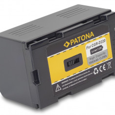PATONA | Acumulator p PANASONIC CGRD110 CGR-D120 CGR-D220 NV-DS150 DS990 EX1 EX3 - Baterie Aparat foto