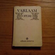VARLAAM -- Opere * Raspunsul Impotriva Catihismusului Calvinesc -- Editie critica, 1984, 230 p.+ facsimile, Trei