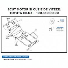 Scut motor + cutie de viteza metalic Toyota Hilux 2007 -> - Scut motor auto, Universal