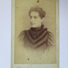 FOTOGRAFIE PE CARTON OSCAR FELLA DIN ANII 1900 - Fotografie veche