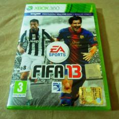 Fifa 13, xbox360, original si sigilat, alte sute de jocuri! - Jocuri Xbox 360, Sporturi, 3+, Multiplayer